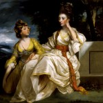 Joshua Reynolds (1723-1792), Mrs. Thrale and Her Daughter Hester (Queeney), 1781, oil on canvas