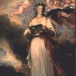 Joshua Reynolds (1723-1792), Mrs. Billington as St. Cecilia, 1789, oil on canvas