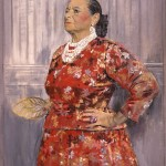 Graham Vivian Sutherland (1903-1980), Helena Rubinstein, 1957, oil on canvas