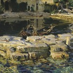 John Singer Sargent (1856-1925), San Vigilio, Lake Garda, 1913, oil on canvas