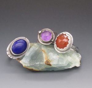 Making Sterling Rings with Bezel-Set Stones with Vaughn Millner @ Mobile Museum of Art
