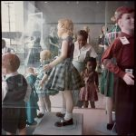 Gordon Parks, Ondria Tanner and Her Grandmother Window-shopping, Mobile, Alabama, 1956, Archival pigment print.